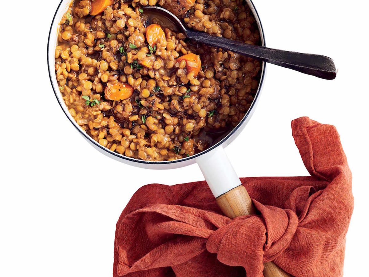 A Perfect Pot of Lentils