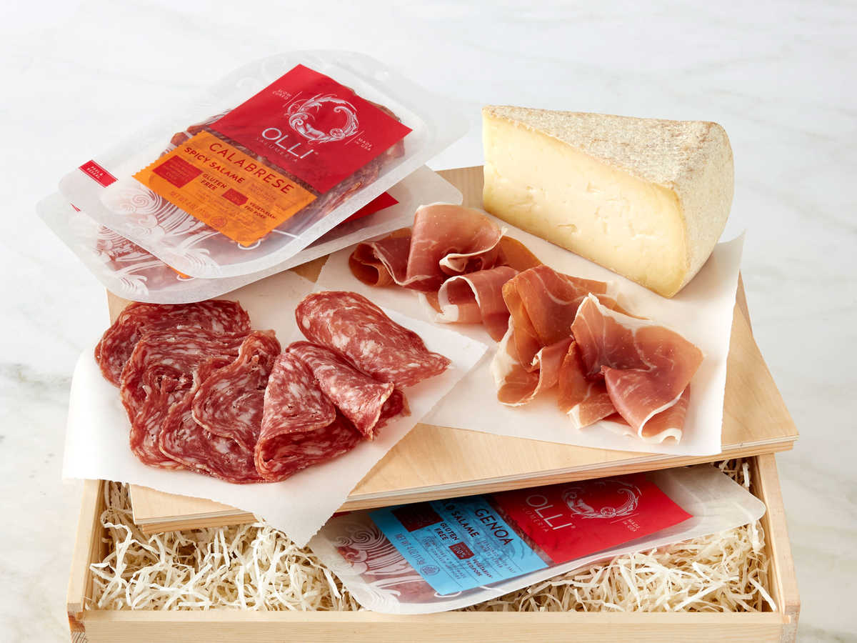 From prosciutto, to salami, to Swiss-styled mountain cheese, this crate might be the mother of all artisanal food gifts. Delivered with adequate gel packs and insulation, this gorgeous crate takes the hassle out of selecting individual food items and does all the tricky pairing for you.