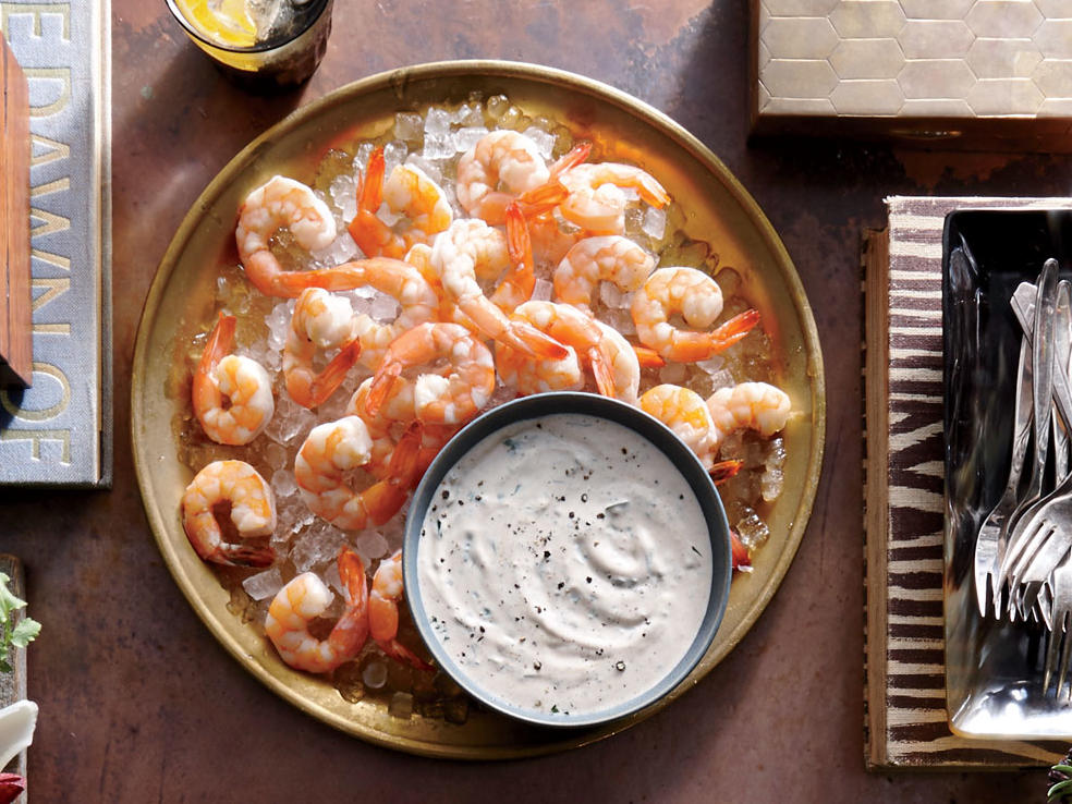 Diabetic christmas recipes cooking light broiled shrimp with buttermilk rmoulade forumfinder Images
