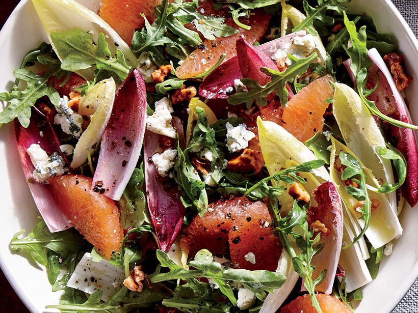 Grapefruit, Endive, and Arugula Salad