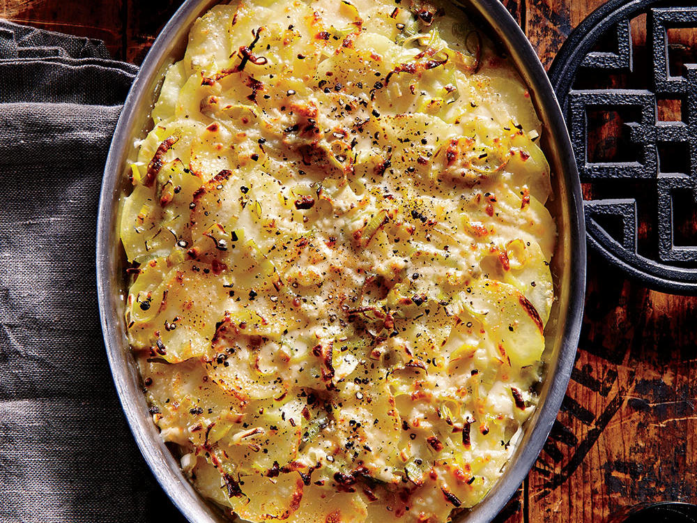 This rustic potato side has it all – contrasting flavors, appeasing texture, and a melty, golden crust. The protein and fat present in the milk and cheese balance out the carbohydrates in the potatoes to create a satiating, diabetic-friendly side. Bonus: you can reheat the leftovers in the oven to serve with eggs and fruit the next morning for breakfast.