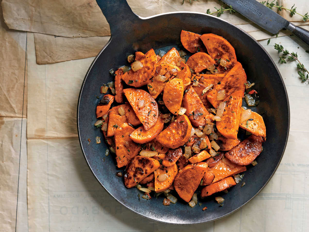 Fish House Sweet Potato Hash