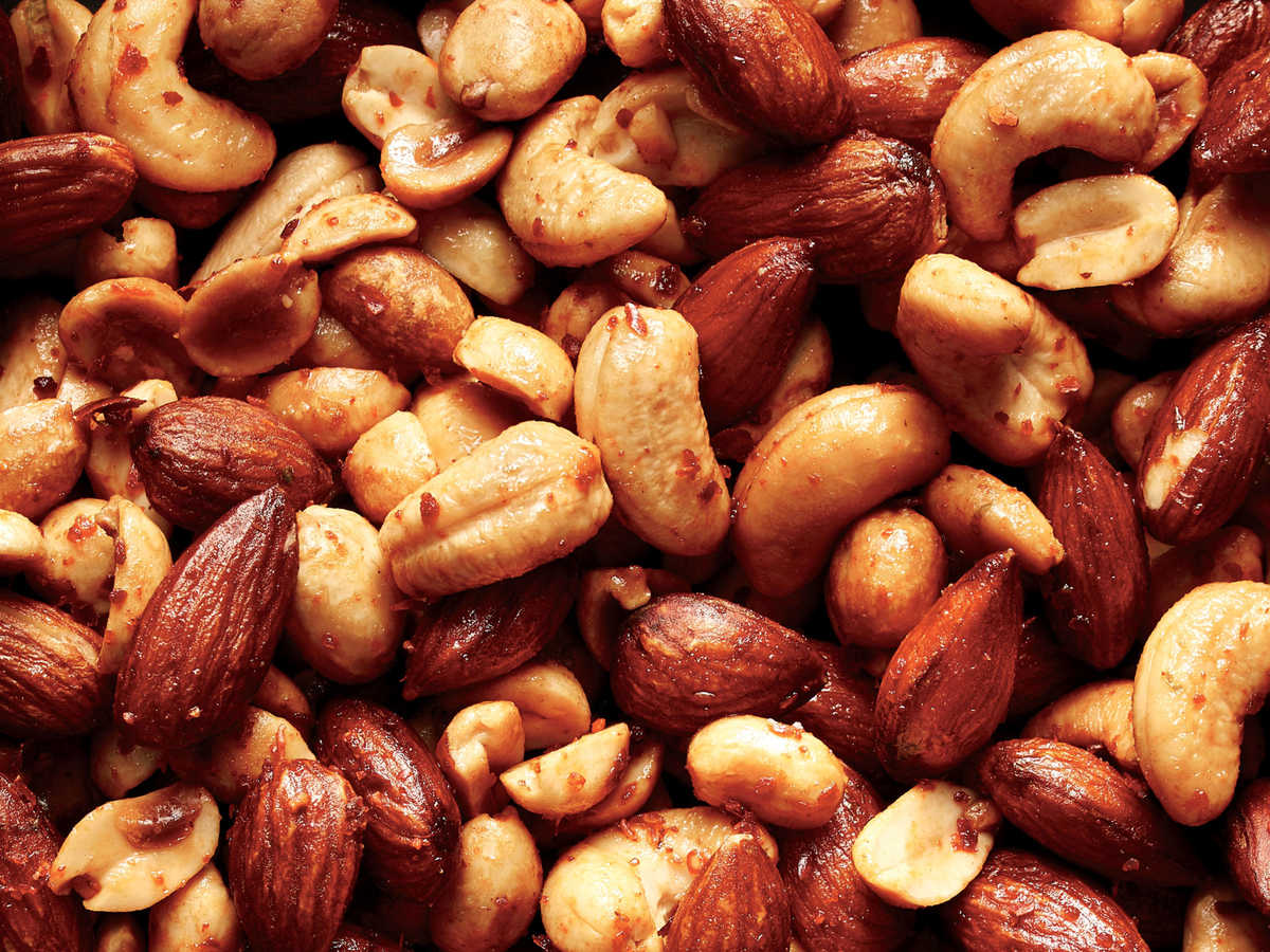 Spicy Soy Bar Nuts Recipe Cooking Light
