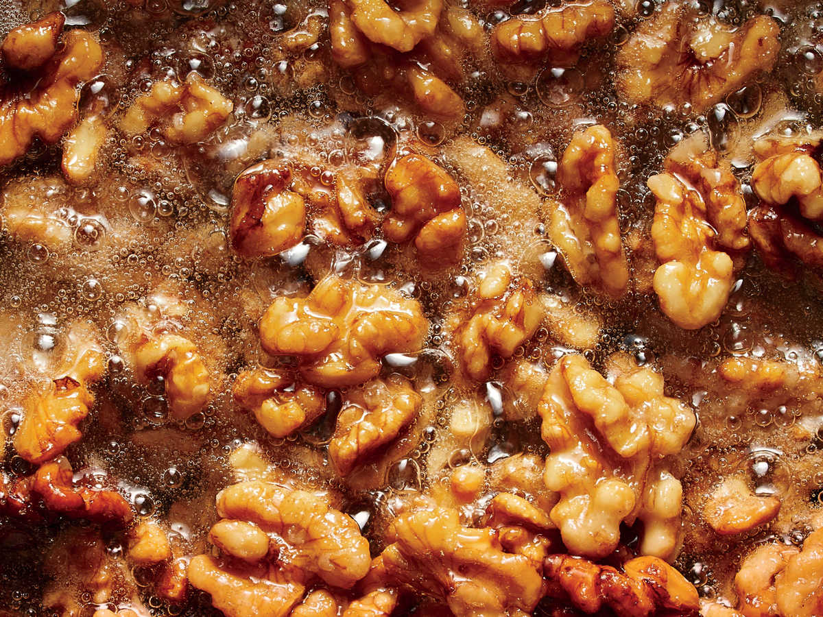 Fried Walnuts