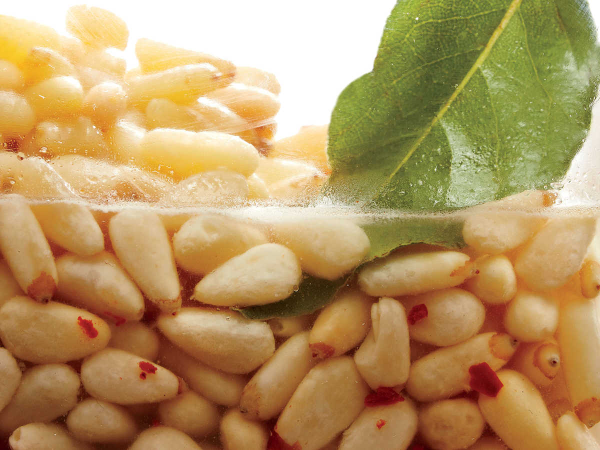 Pickled Pine Nuts