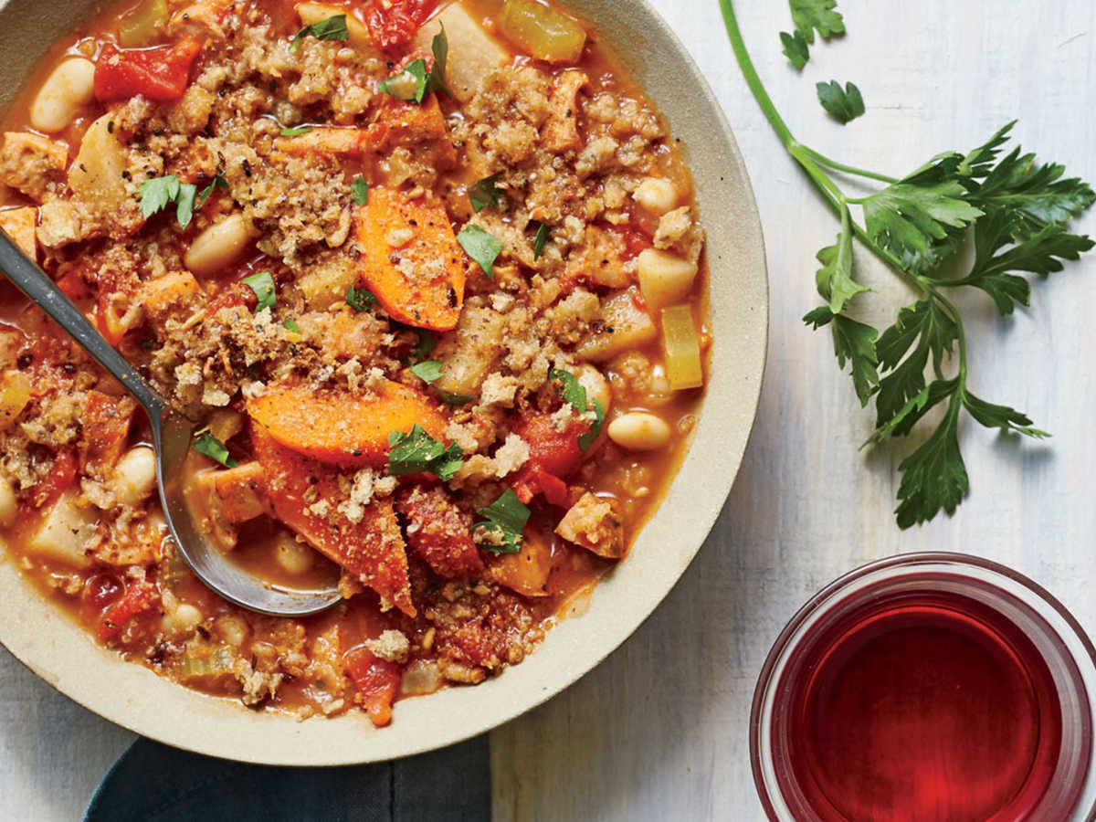 November 6: Slow Cooker Sausage Cassoulet