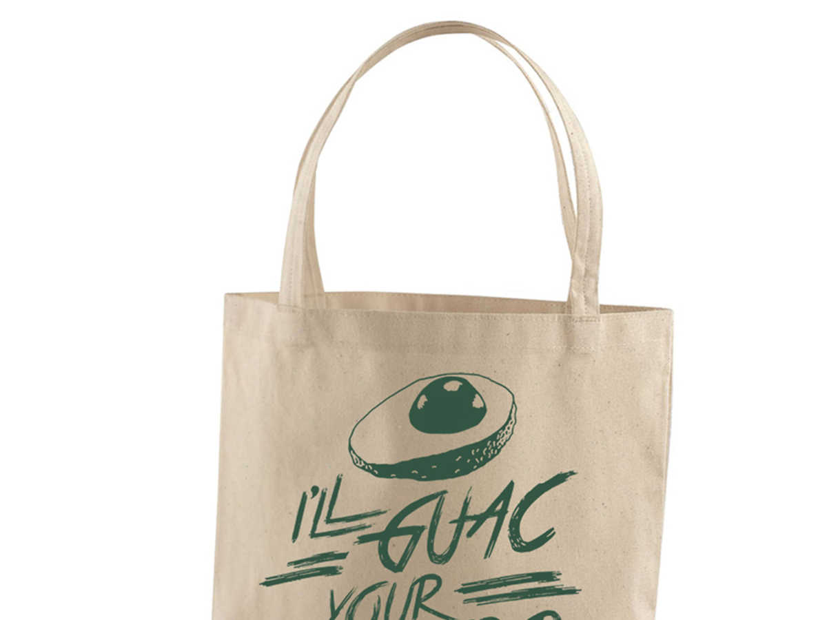 Bad Pickle Tees Guac Tote