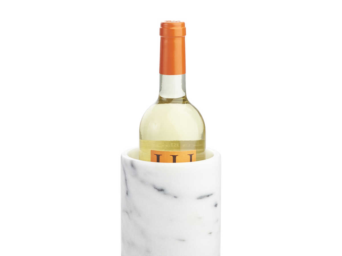 Crate and Barrel French Kitchen Marble Wine Cooler