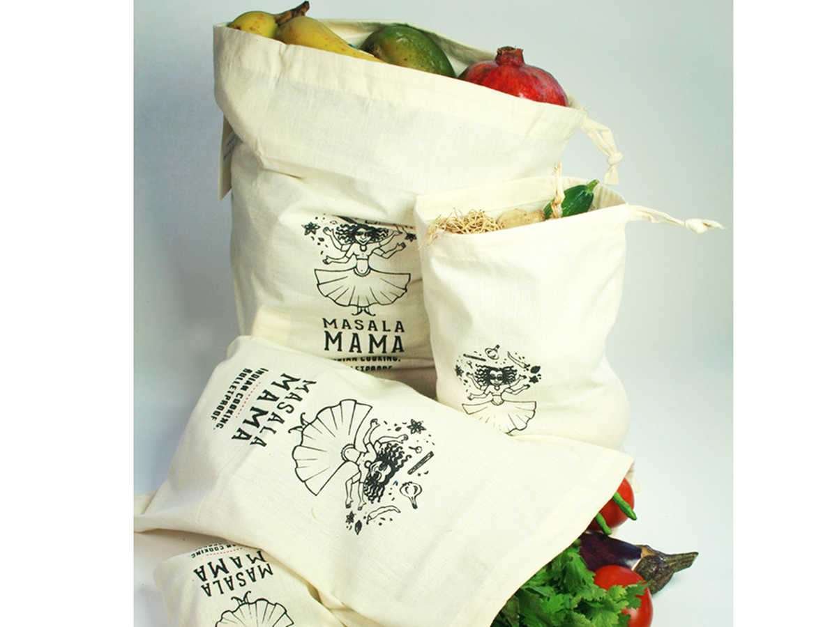 Many Kitchens Masala Mama Produce Bags