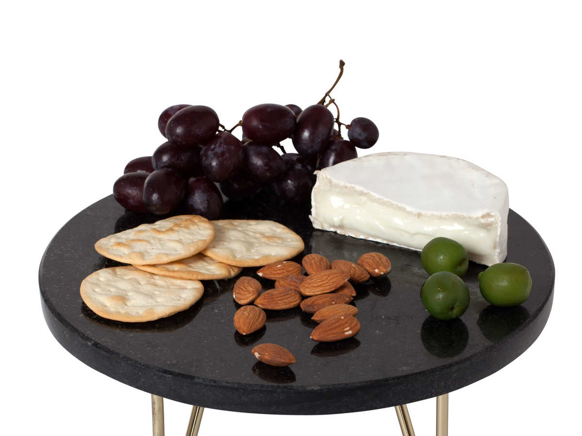 This new black marble cheese board from Nate Berkus will make any entertainer giddy on Christmas morning. The metal hairpin feet are finished in metallic gold, and the board's elegant presentation resembles any beautiful sculpture at an art museum. Even better, this beautiful board is dishwasher-safe, so a tired cook can drop this in their dishwasher after a party and not bother hand washing.                                                      $25, target.com
