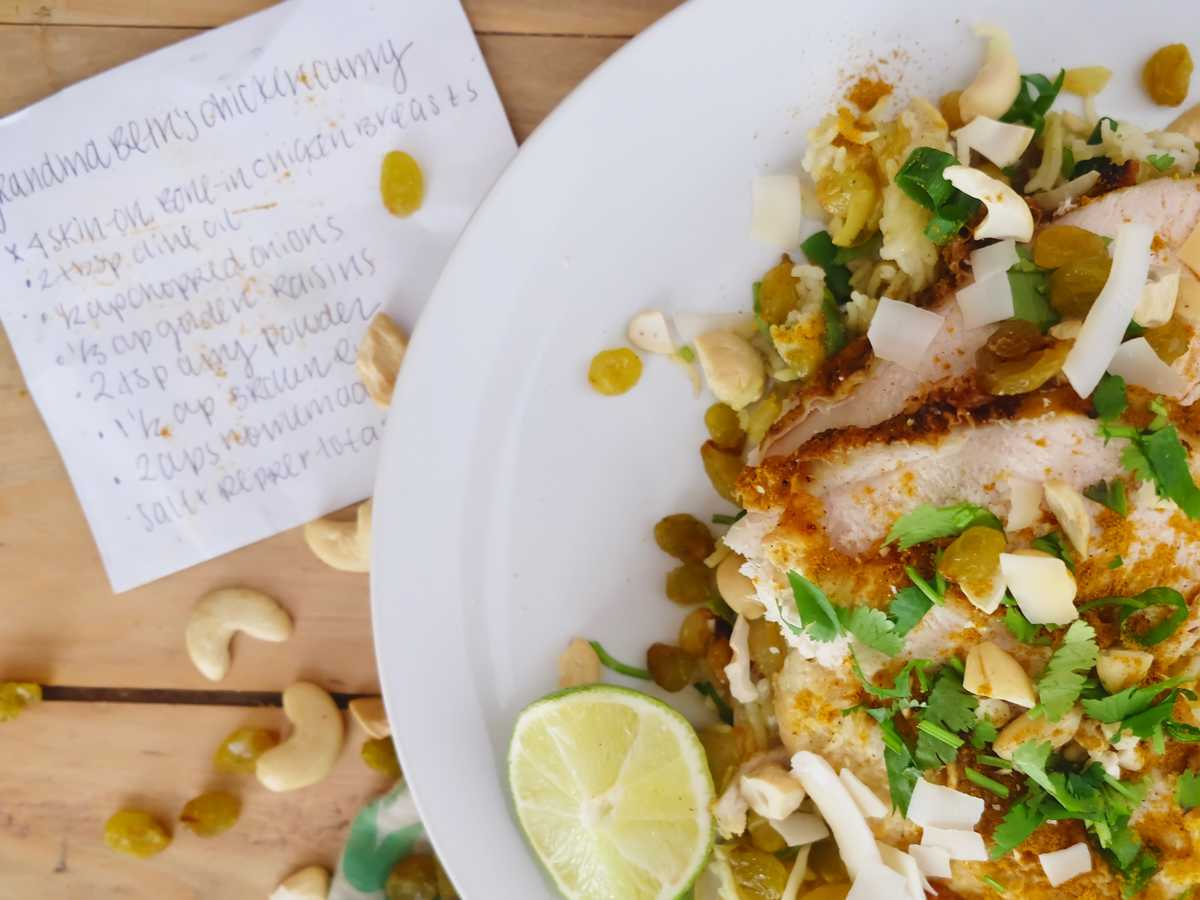 Chicken Curry Recipes with Roots
