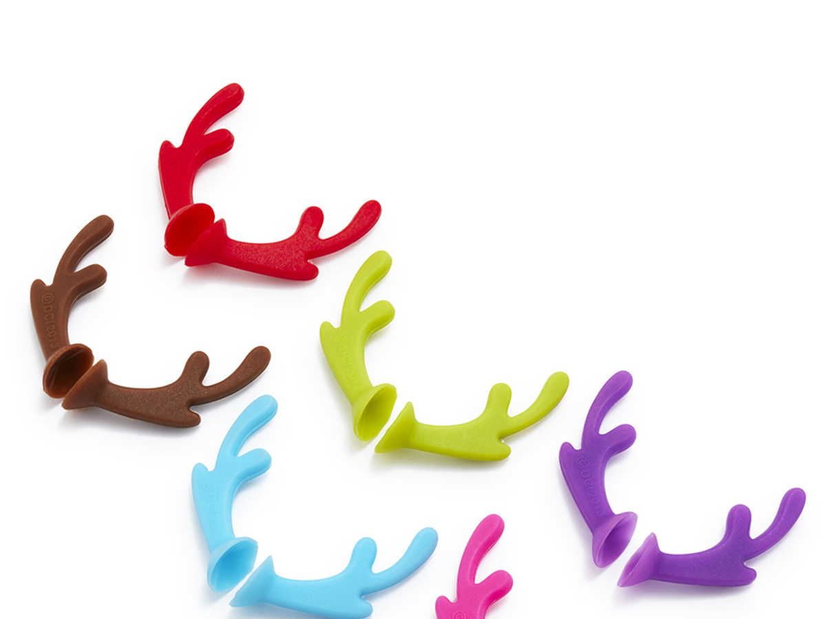 Sur La Table Antler Drink Markers Set