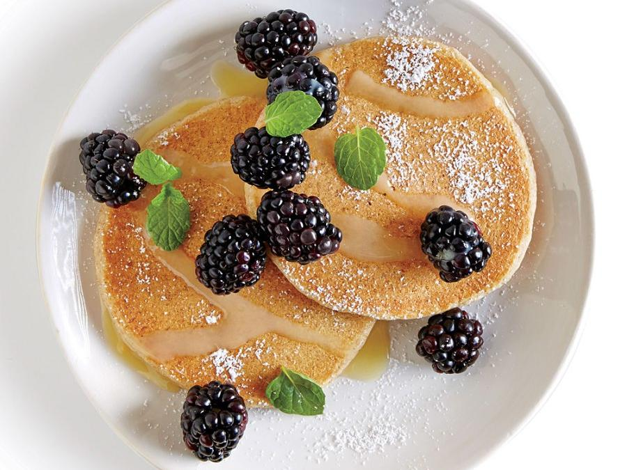 Tart-Sweet Lemon Blackberry Pancake Topping