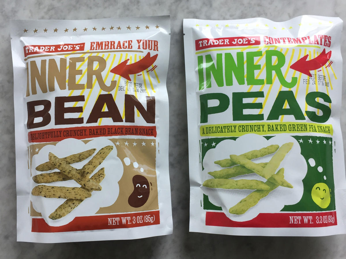 Trader Joe's Inner Peas and Inner Beans