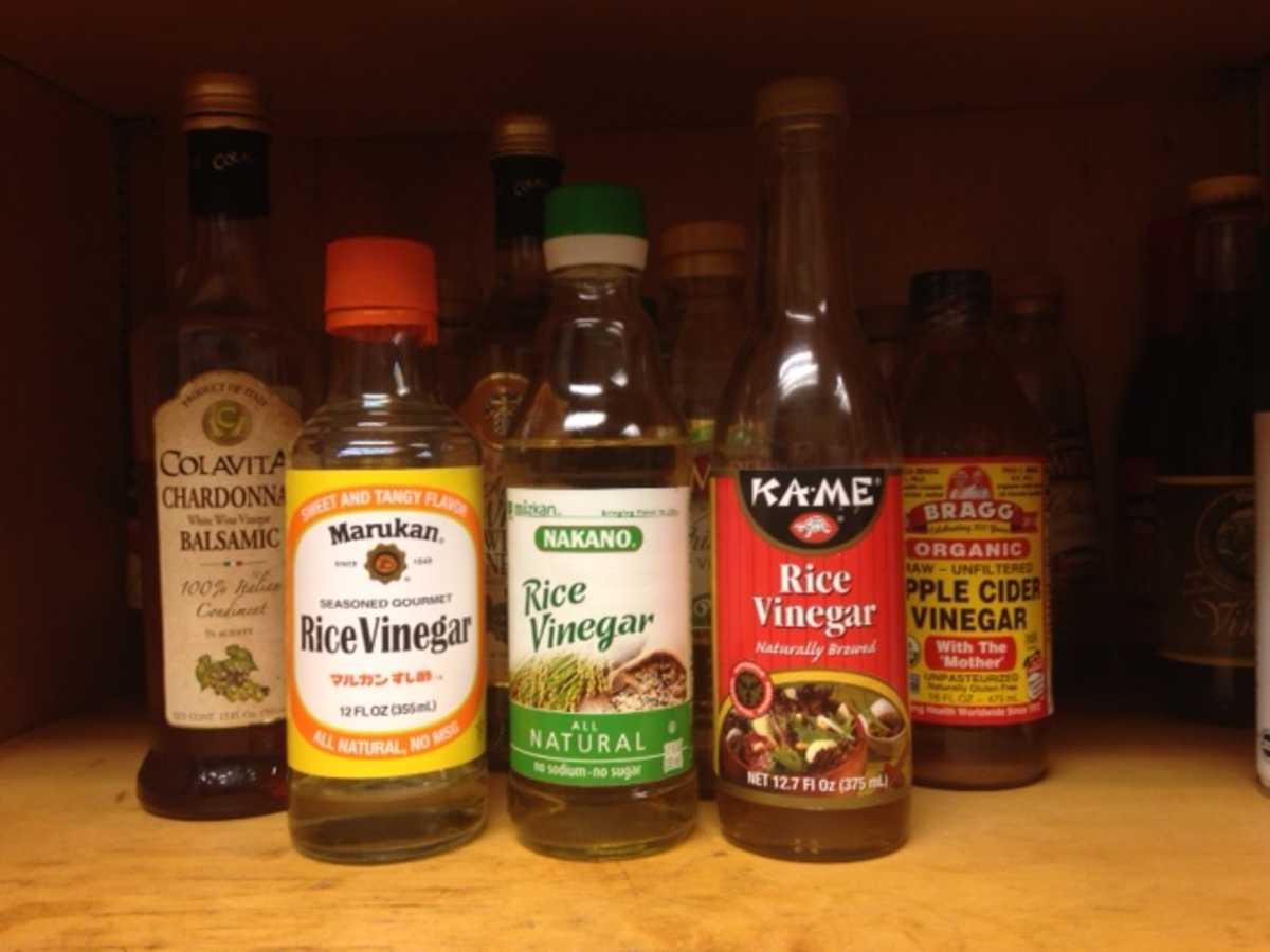 What to replace vinegar 20