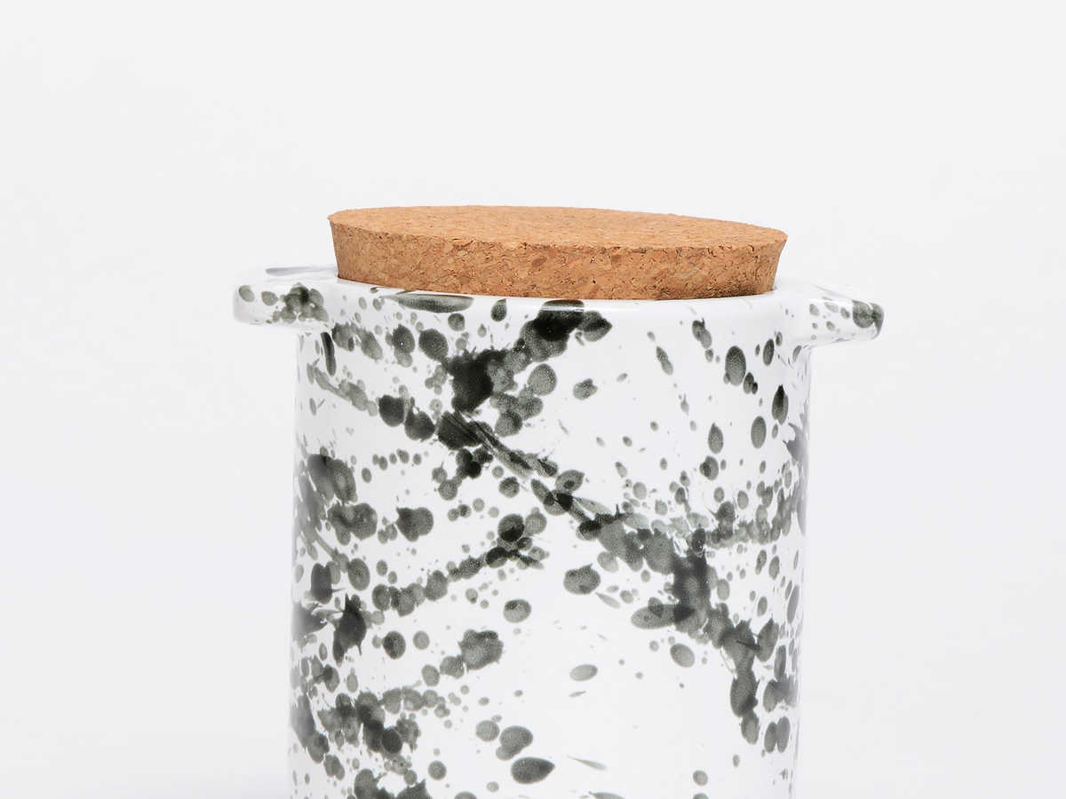 Waggo Splash Ceramic Treat Jar