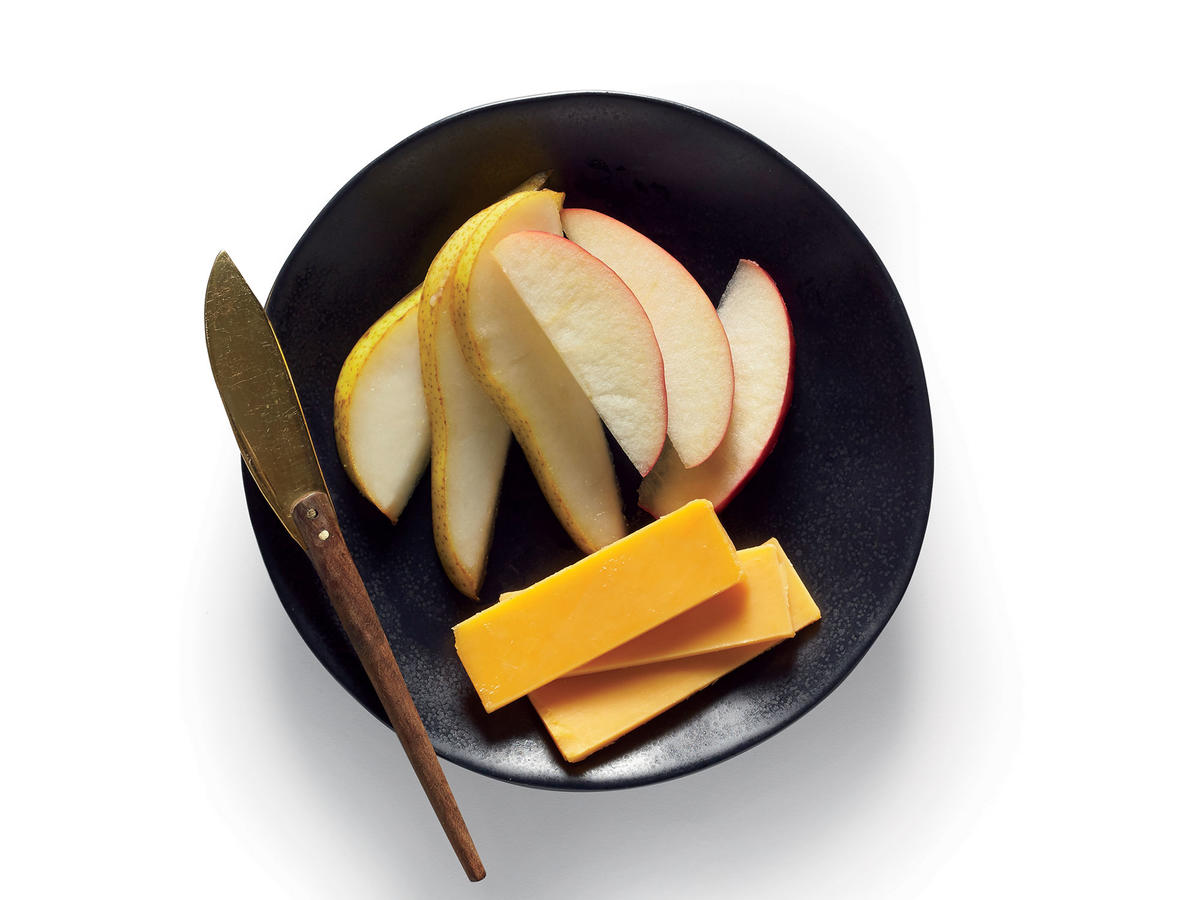 Apples Pears and Cheddar