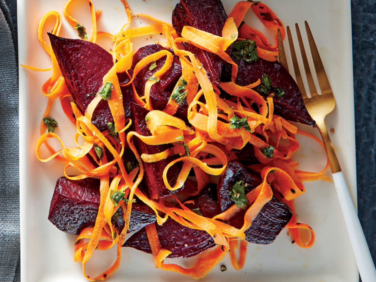 Buttered Beet and Carrot Sauté