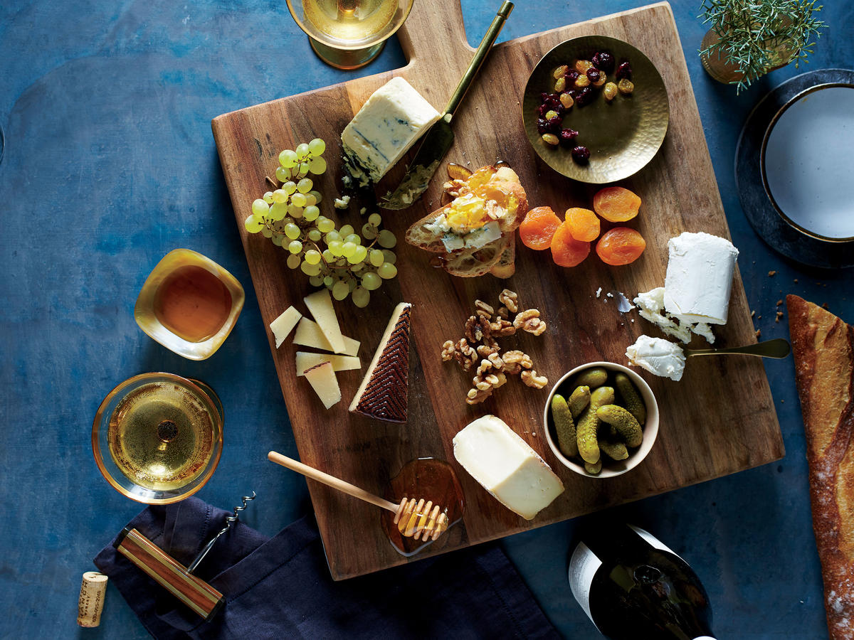 Healthy Cheese Board
