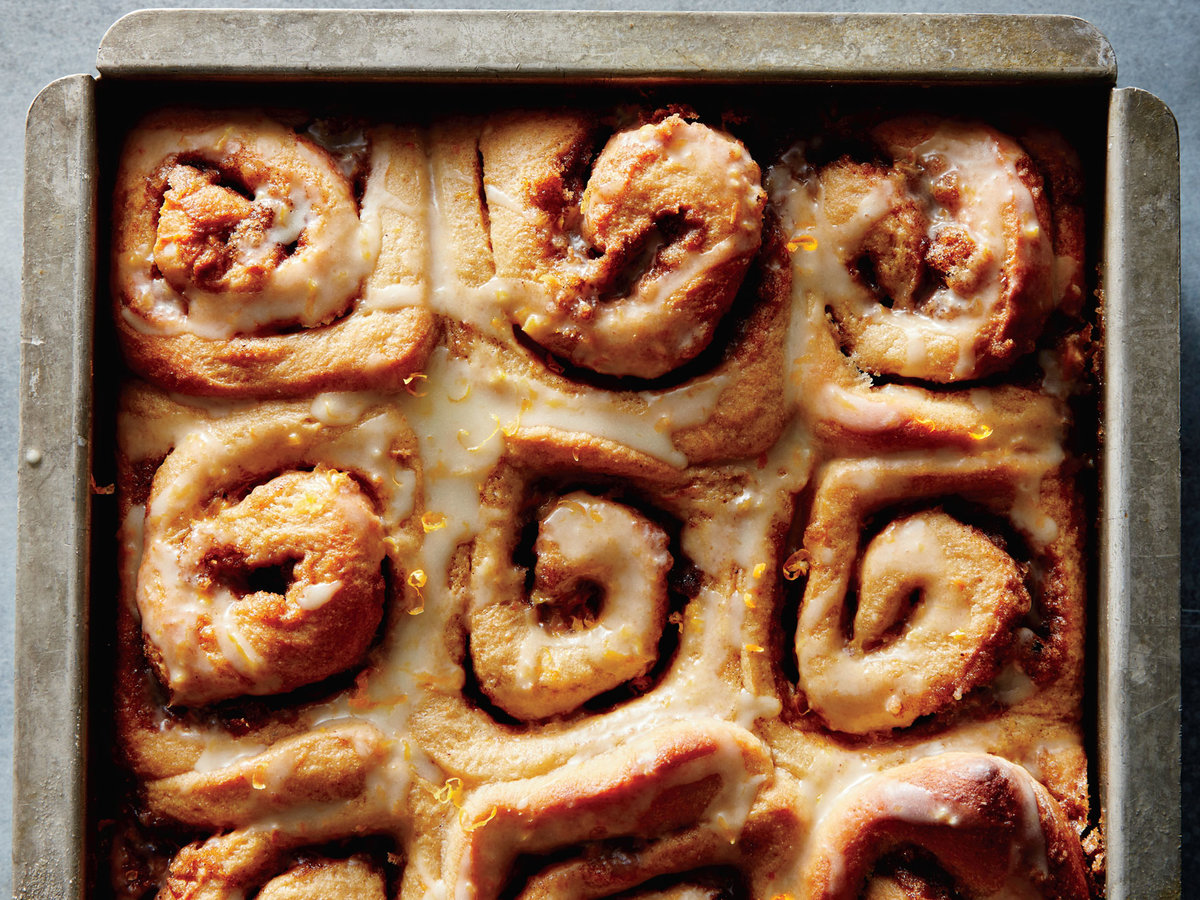 Cinnamon-Orange Pinwheels
