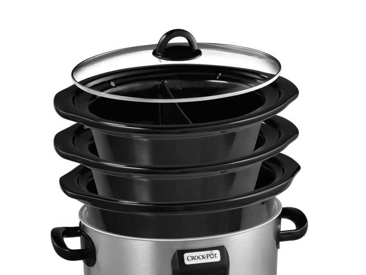 Crock-Pot Choose-A-Crock Programmable Slow Cooker