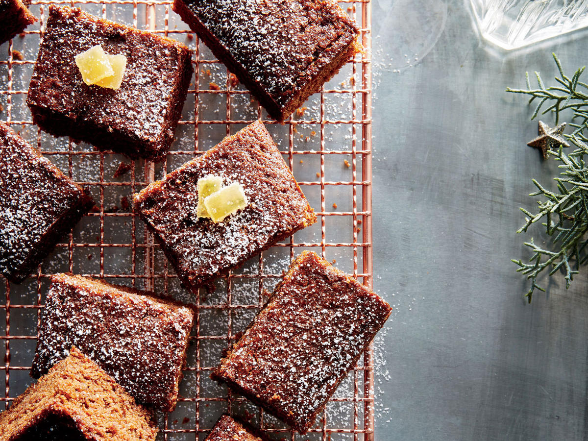 Fresh Gingerbread Squares