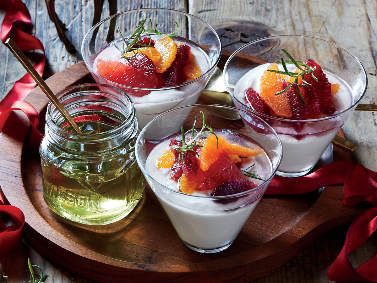 Rosemary-Citrus Parfaits