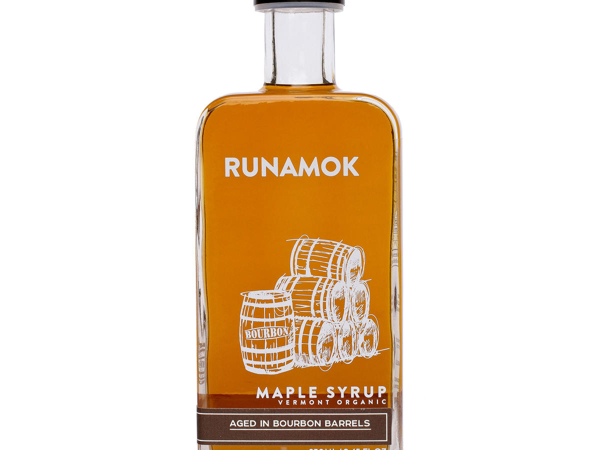 Runamok Bourbon Maple Syrup