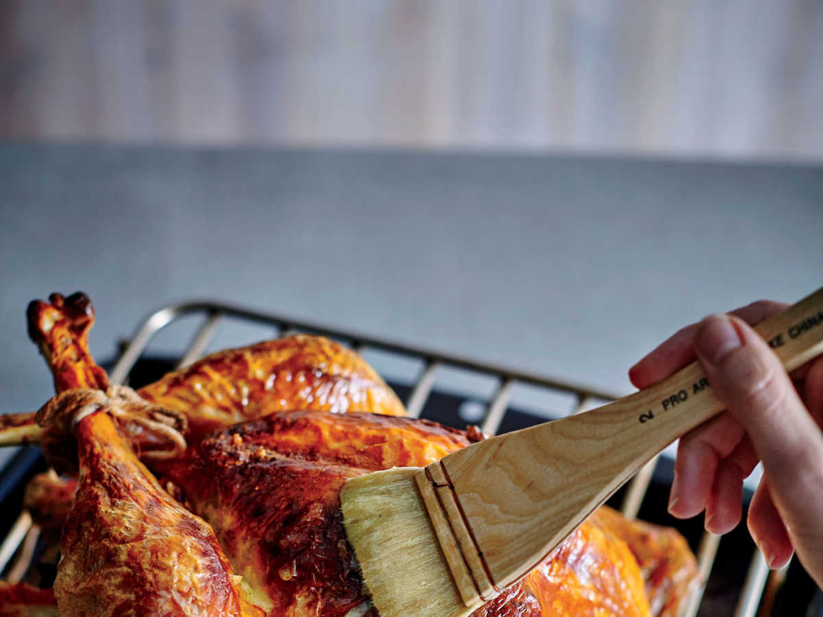 Truss Turkey Step Baste