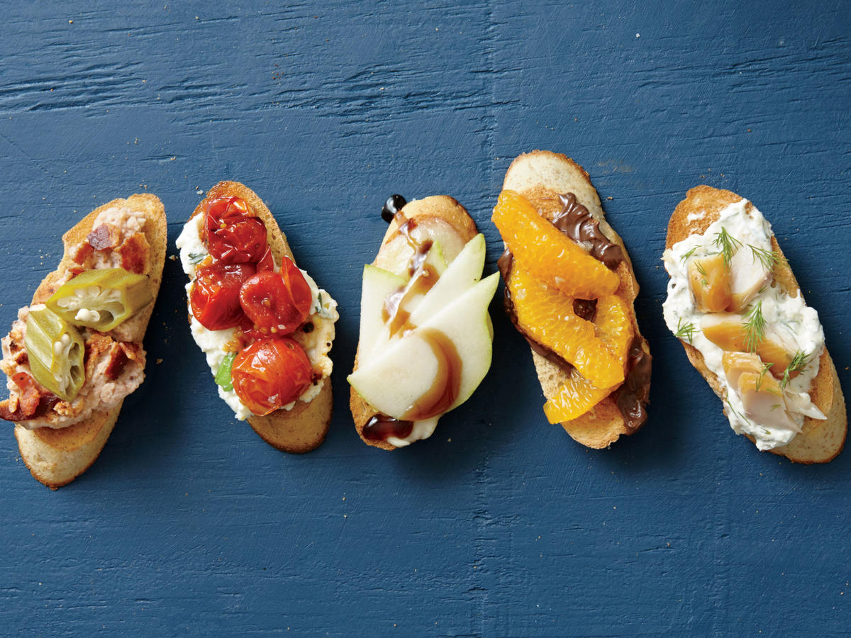 Five Tempting Bruschetta Toppers image