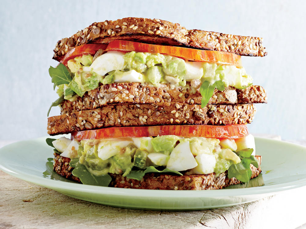 When ordering a deli sandwich, consider each component—bread, protein, veggies, and condiments. Choose heart-healthy whole-grain bread, whole-grain or Dijon mustard, and minimally-processed proteins such as chicken breast or thinly-sliced roast beef. Sliced, cold-cut deli meat such as ham or turkey is high in sodium and many brands contain preservatives. If there is a salad bar, load up your plate with mixed greens and veggies. Lightly drizzle with olive oil and vinegar.