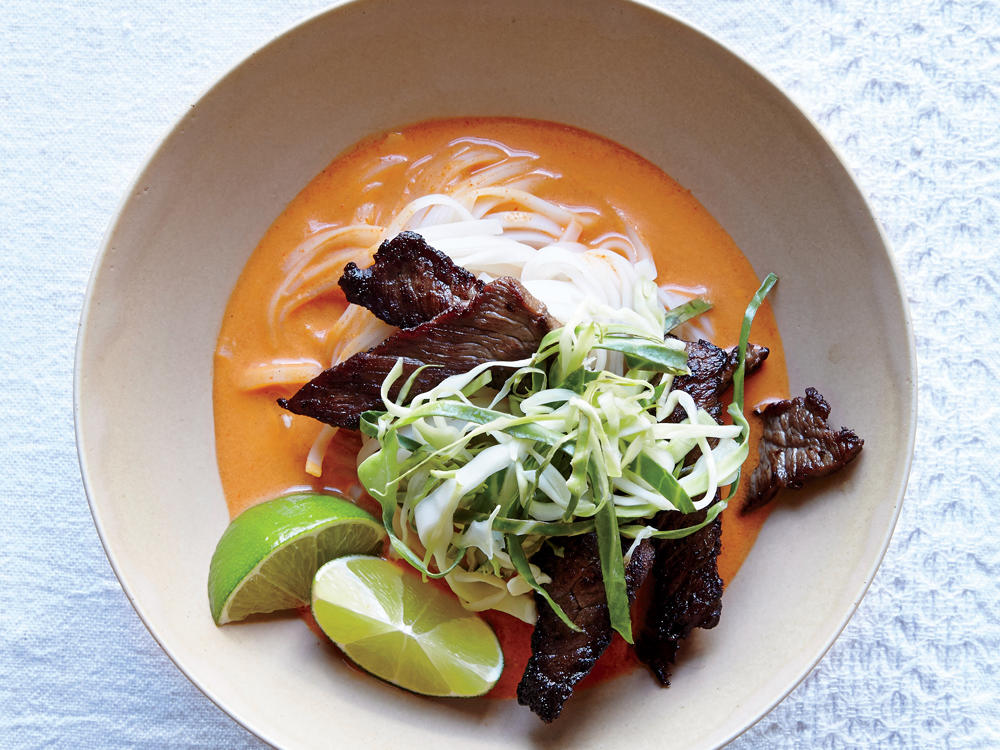Easy Thai Steak Noodle Bowl Weight-Loss Plan
