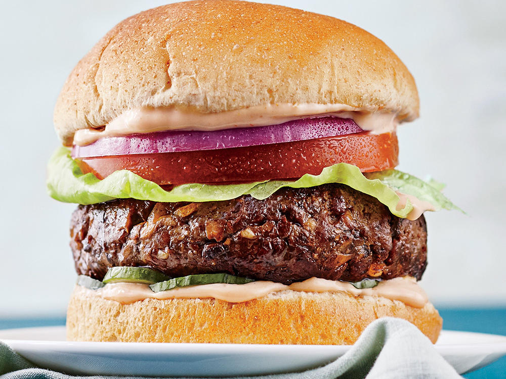 When ordering a burger, stick to the basics—bun, patty, lettuce, and tomato—and avoid fatty ingredients such as bacon. Condiments add flavor, but ketchup, barbecue sauce, and honey mustard are often loaded with high fructose corn syrup. Try a packet of yellow or Dijon mustard—they pack plenty of flavor! Consider skipping the bun, as many fast-food varieties tote lengthy ingredient lists full of preservatives, or ask if you can have your burger wrapped with lettuce leaves. 