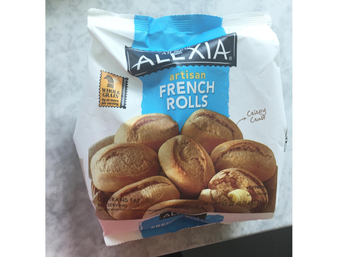 Alexia French Rolls Frozen Food