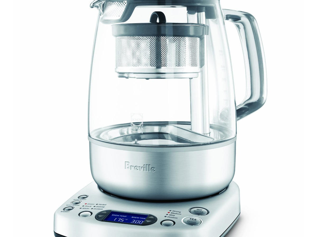 If you're serious about loose-leaf tea and want to brew black, green, white, and oolong to perfection, Breville'sgot you covered. Their new tea maker lets you program water temps and steep times, with a moving tea basket for peak infusion.                                                      $209, amazon.com