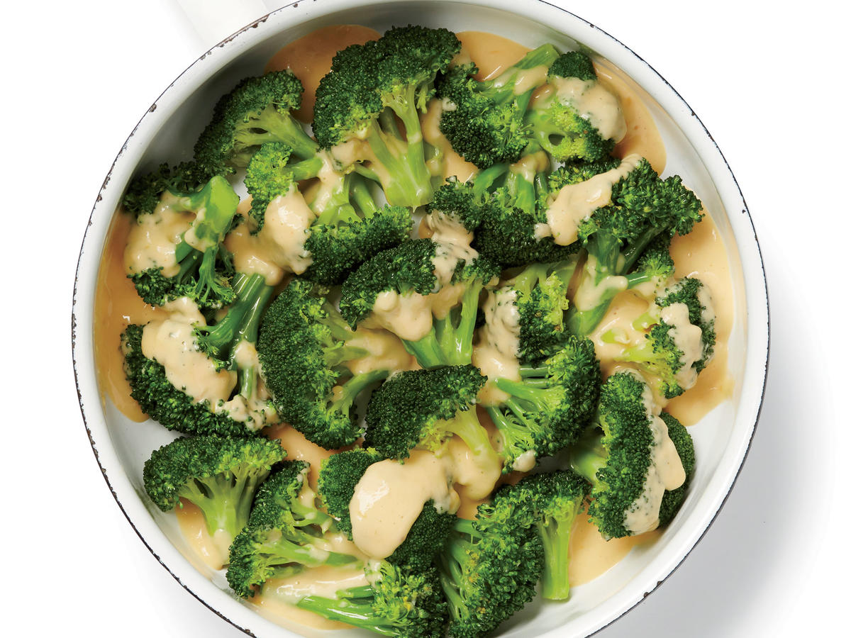 So your kids love broccoli and cheese? Great! Here's a fun way to add a little pizzazz to the classic side dish: prepared horseradish. A bottle of prepared horseradish goes a long way, and it can add lots of flavor interest to dishes, from soups to cocktails. Next time you're looking to add a little excitement to your chicken and vegetable dinner, spoon a little horseradish into the sauce.
