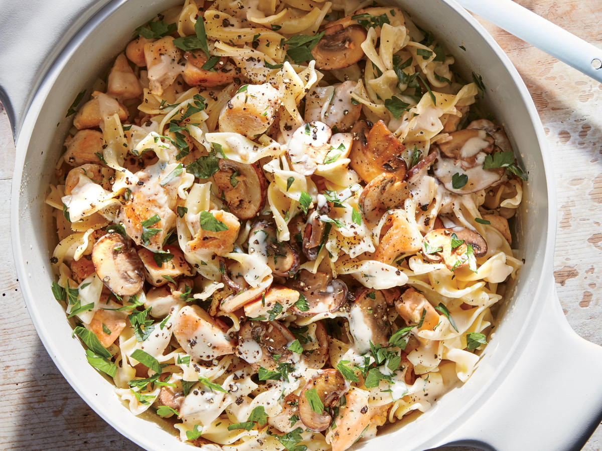 If stroganoff could restore its Russian creators 200 years ago, this chicken version will restore you on any weeknight.