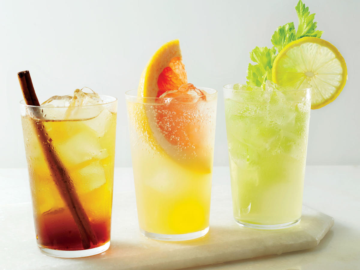 If you're looking for a refreshing, bubbly mid-afternoon fix that packs a bit more punch than sparking water, try making your own. These three simple soda bases have just a handful of fresh ingredients and spices that deliver bold flavor and fizzy refreshment with a fraction of the sugar in store-bought soda.