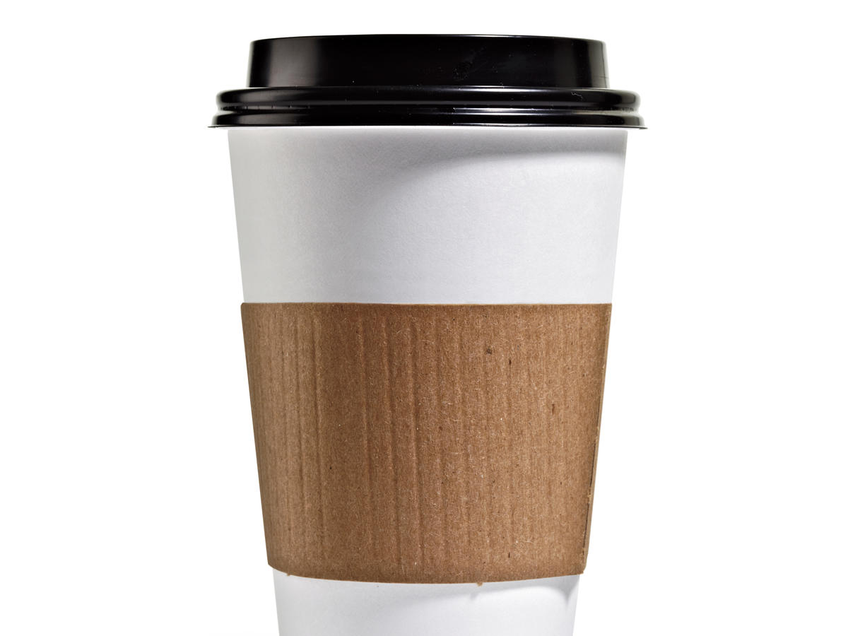 Put new milk smarts to good use: Order 12-ounce dark roast instead of a mostly milk latte. Figure sodium savvy earns me a treat: a shot of half-and-half.