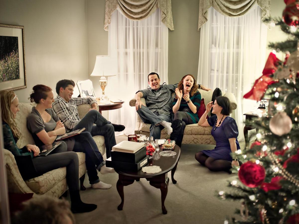 Family Christmas Gathering