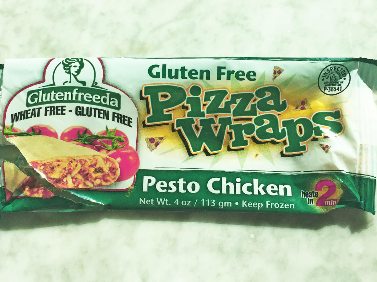 Glutenfreeda Pesto Chicken Pizza Wrap Frozen Food