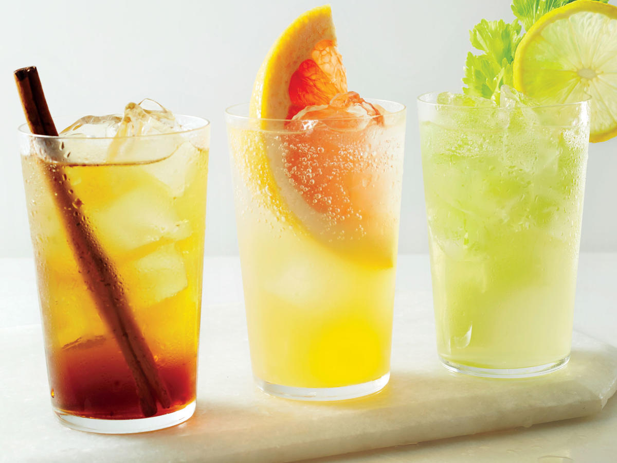 10. Trade Booze for Homemade Soda