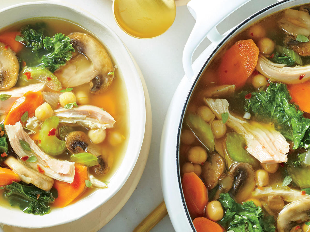 Immunity soup recipe cooking light forumfinder Choice Image