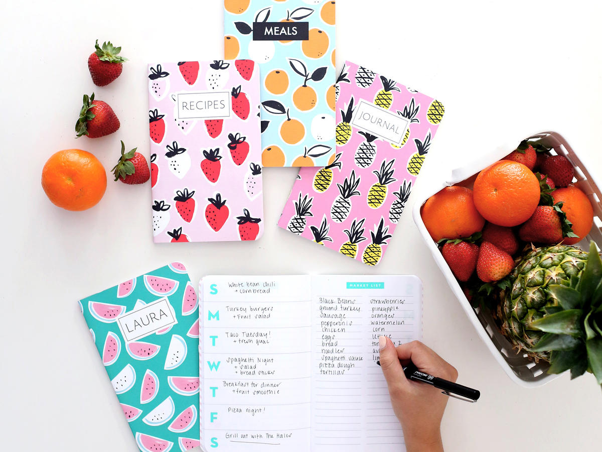 May Designs Meal Planner Journal