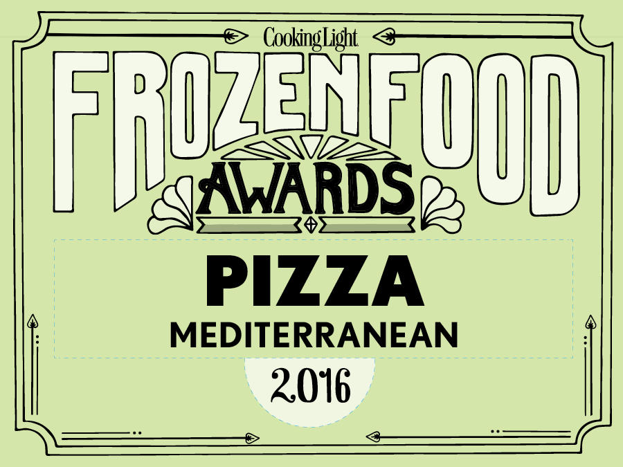 The Healthiest Frozen Foods in the Supermarket: Mediterranean Pizza