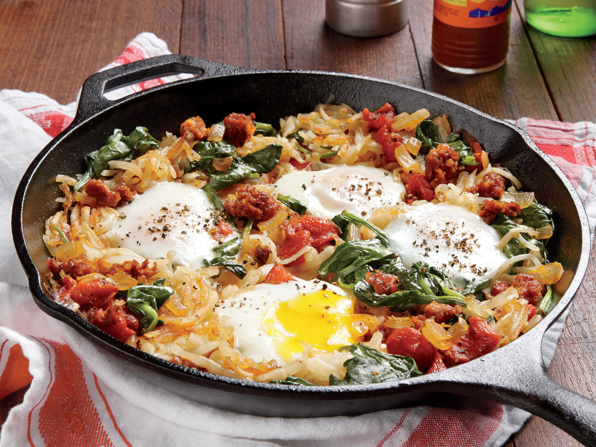 Mexican Chorizo Hash Recipe