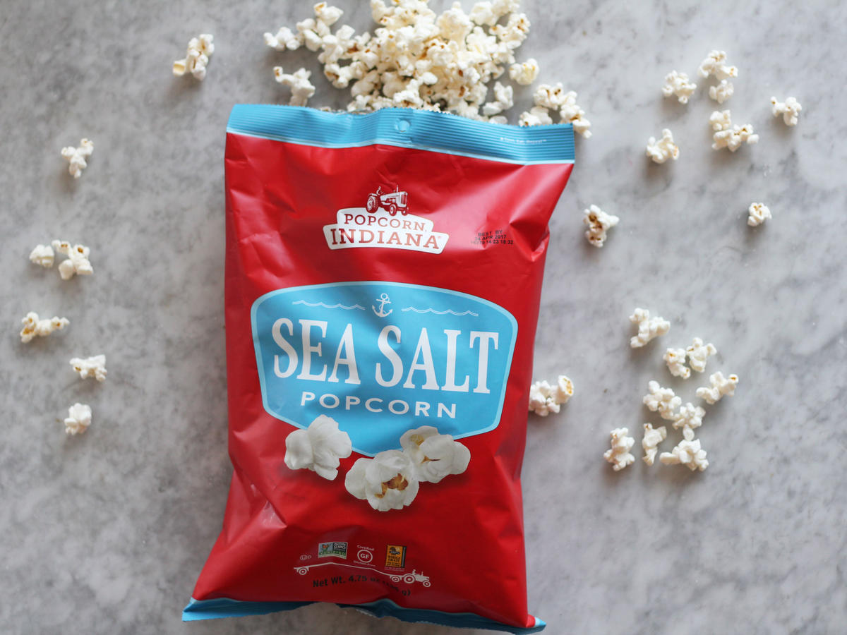 Popcorn Indiana Sea Salt Popcorn desk snack