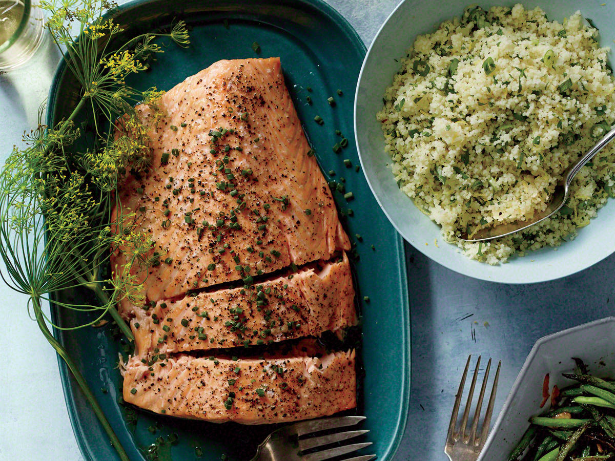 A Roasted Side Of Salmon Makes A Mighty Impressive Dish For Special Pany, But Few