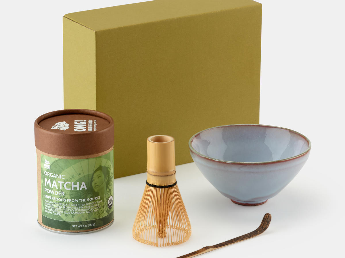 Rodale's Matcha Tea Making Set + Matcha Tea Powder