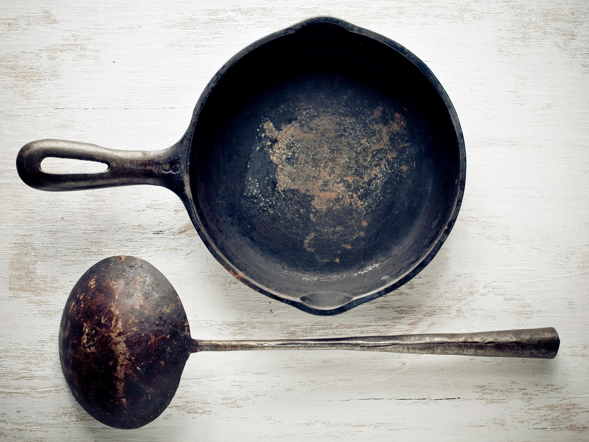 Rusty Cast Iron